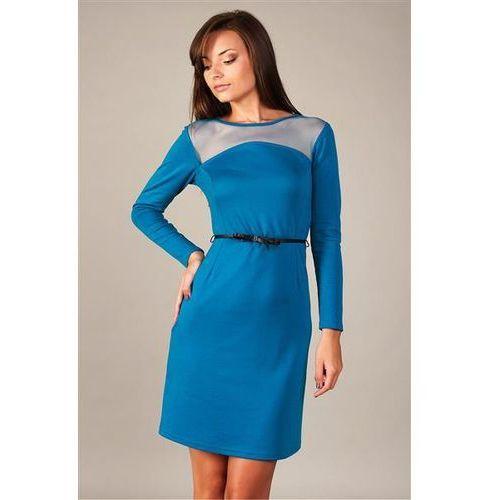 Sukienka model giselle błękit paryski marki Vera fashion