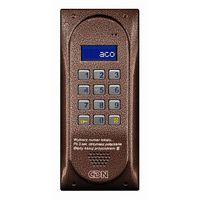 Cdnp5 br centrala domofonowa master do instalacji cyfrowych do 255 lokali brązowa, marki Aco