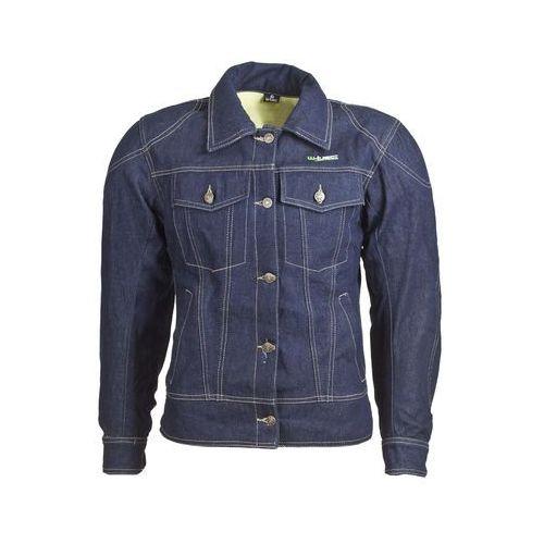 Kurtka motocyklowa damska jeansowa nf-2980, ciemny niebieski, 3xl marki W-tec
