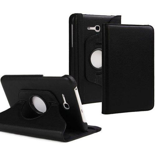 Etui stojak obrotowe do Samsung Galaxy Tab 3 7.0 LITE czarny - Czarny