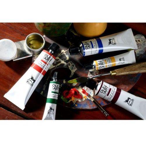 Farby olejne 20ml lazur krapowy złoto różowy x6