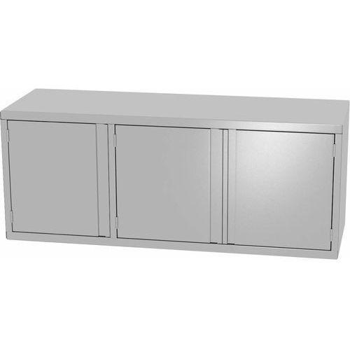 Szafa wisząca 3-drzwiowa z drzwiami na zawiasach | szer: 1400 -1600mm | gł: 300mm marki Xxlselect