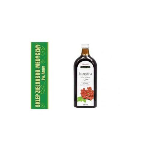 Jarzębina sok 100% 500ml sok bezpośrednio wyciskany z owoców jarzębiny marki Premium rosa
