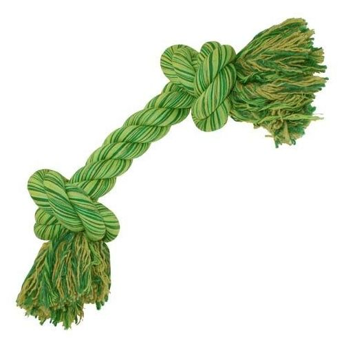 Bawełniany sznur z węzłami dla dużych psów