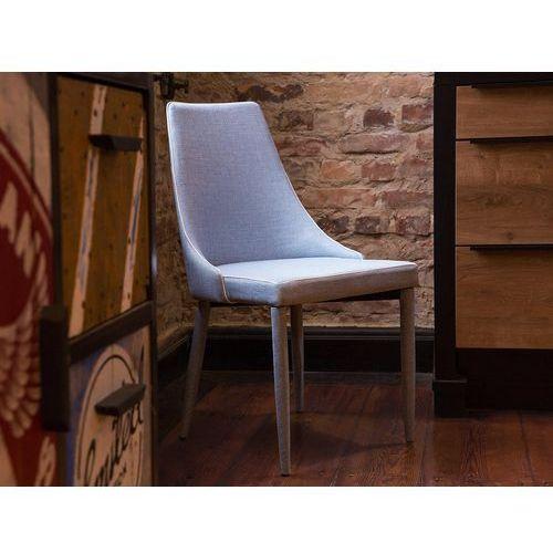 Zestaw do jadalni 2 krzesła jasnoniebieskie CAMINO, kolor niebieski