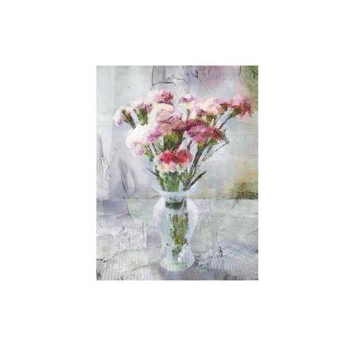 Kanwa pink flowers 60 x 80 cm marki Styler