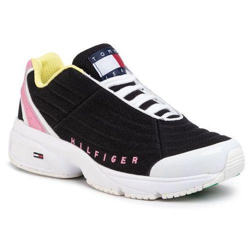 Sneakersy - heritage tommy jeans sneaker en0en00861 black bds marki Tommy jeans