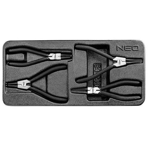 Zestaw szczypiec NEO 84-240 (4 elementów) DARMOWY TRANSPORT, 84-240