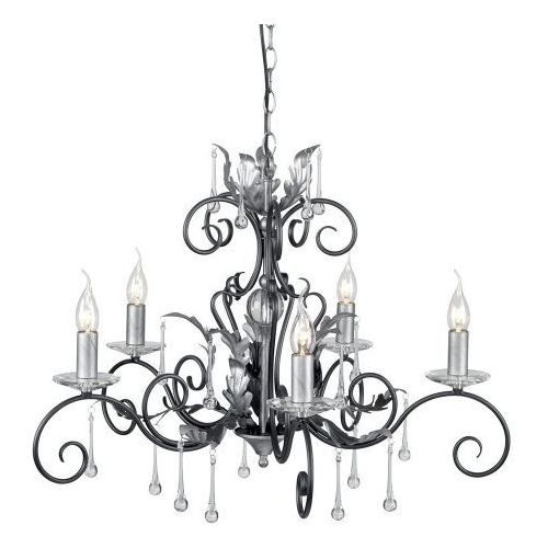 Amarilli Black/Silver Sufitowa Elstead AML5 BLK/SILVER 73cm czarny-srebrny