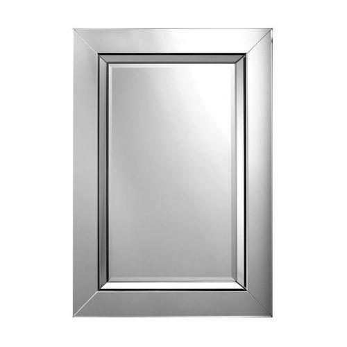 Lustro łazienkowe bez oświetlenia MODENA 90 x 65 cm DUBIEL VITRUM, kolor biały