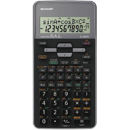 Kalkulator el-531th szary marki Sharp