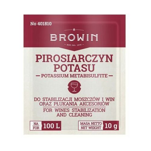 Pirosiarczyn potasu marki Biowin
