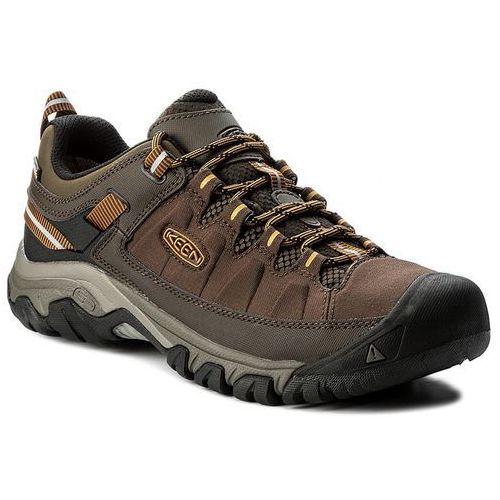 Trekkingi KEEN - Targhee Exp Wp 1017722 Cascade/Inca Gold, kolor brązowy