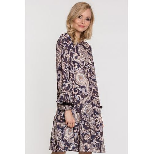 Sukienka wzorzysta Elmira - SU