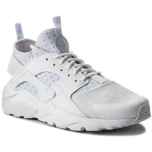 Buty - air huarache run ultra 819685 101 white/white/white marki Nike