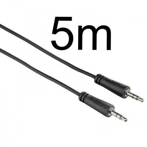 Hama kabel Jack 3,5 - Jack 3,5 5m 122310, 4047443190956