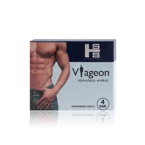 OKAZJA - Tabletki na potencję SHS Viageon 4szt