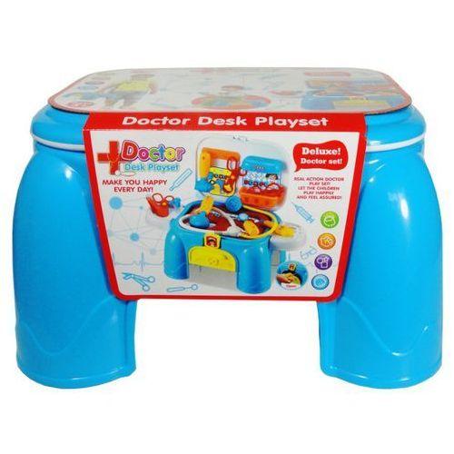 Zabawka SWEDE Stolik lekarski + zestaw dla lekarza DK666-3A (5902496119592)