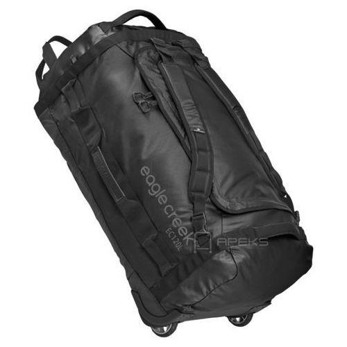 cargo hauler rolling duffel 120l torba podróżna na kółkach 82 cm / składana / plecak / black - black marki Eagle creek