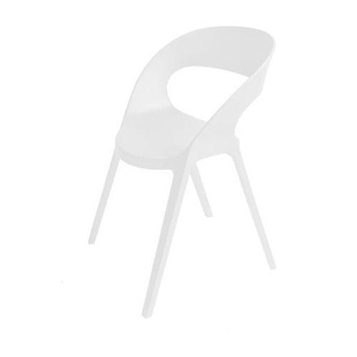 Krzesło Carla białe, kolor biały