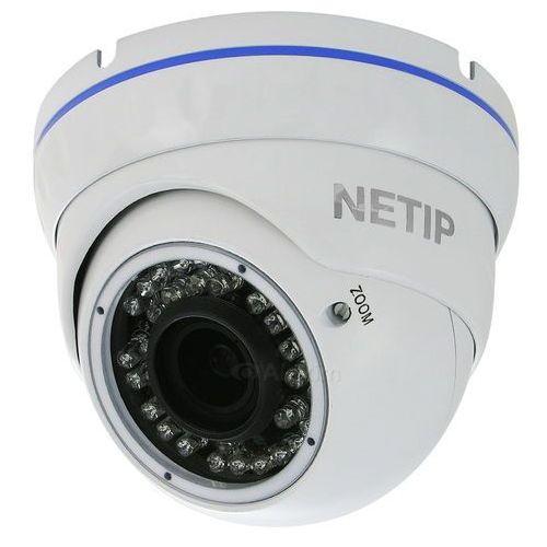 Alexim Kamera ip, kopułkowa netip k30m 1.3 biała poe