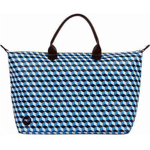 Torba podróżna - weekender cubic blue/aqua (006) rozmiar: os marki Mi-pac