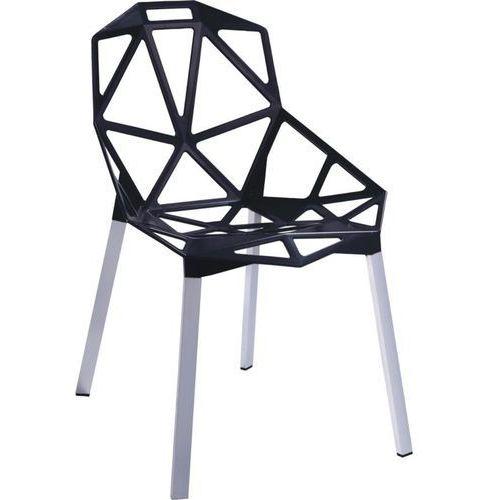 D2.design Krzesło gap inspirowane one chair - czarny (5902385701488)