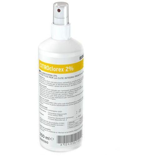 Alkoholowy preparat do dezynfekcji rąk Ecolab CITROclorex 2% 0,25 litra