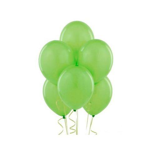 Balony lateksowe pastelowe jasnozielone - średnie - 100 szt. marki Belball