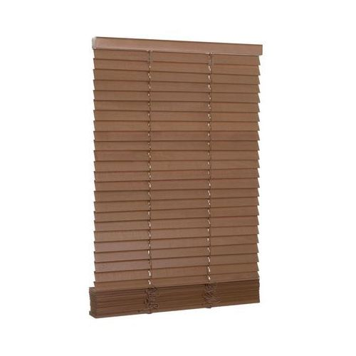 Żaluzja drewniana 80 x 250 cm dąb 27 mm INSPIRE