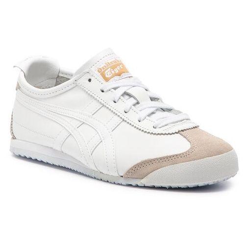 Sneakersy - onitsuka tiger mexico 66 dl408 white/white 0101 marki Asics