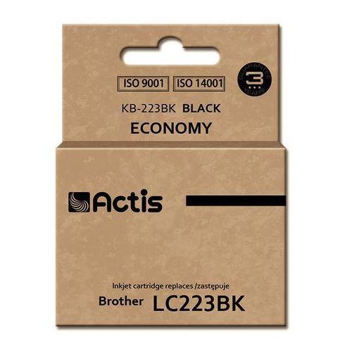 Tusz kb-223bk (do drukarki brother, zamiennik lc223bk standard 16ml czarny) marki Actis