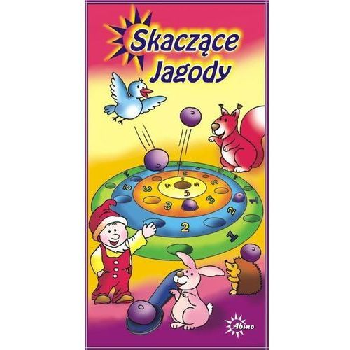 Skaczące jagody. gra marki Abino
