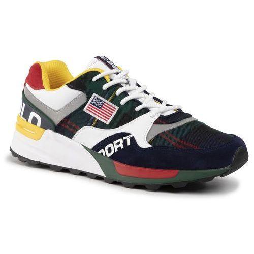 Sneakersy POLO RALPH LAUREN - Trackstr 809758713001 Navy/Rl 2000 Red/Yellow, kolor wielokolorowy