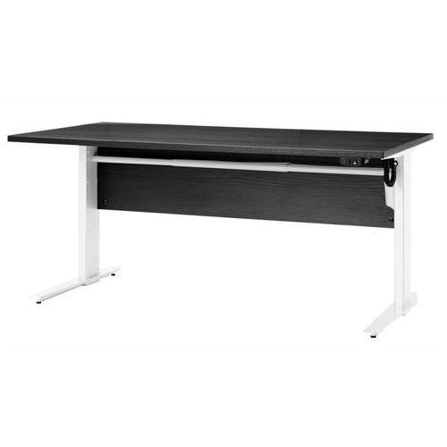 Prima biurko z el. regulowanymi nogami 150 cm - czarny \ biały marki Tvilum