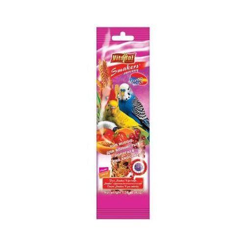 Vitapol Smakers Weekend Style kolby dla papugi falistej owocowe