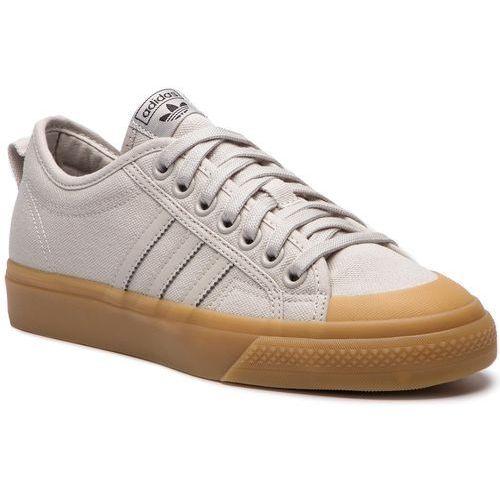 Buty adidas - Nizza B37866 Chapea/Chapea/Gum3, kolor szary