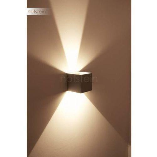 Helestra SIRI 44-L zewnętrzny kinkiet LED Srebrny, 2-punktowe - 950 Lumenów - Nowoczesny - Obszar zewnętrzny - 44-L - 3000 Kelwin (4022671101028)