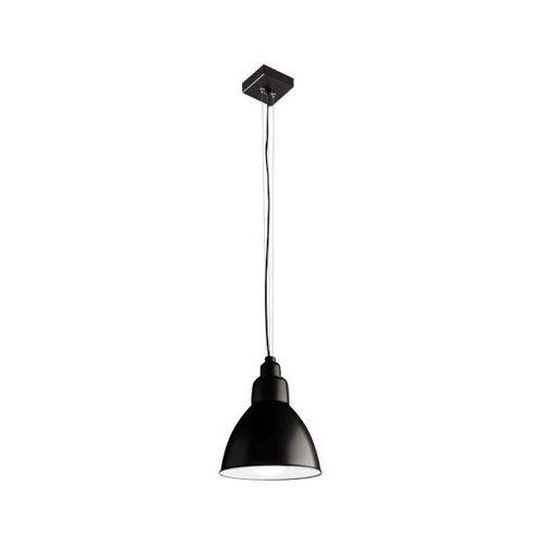 Industrialna LAMPA wisząca DAISEN 5595/E27/CZ Shilo metalowa OPRAWA zwis loft czarny, kolor Czarny