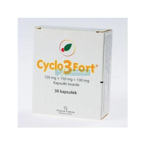 OKAZJA - Kapsułki Cyclo 3 Fort 150mg kapsułki twarde 30 sztuk - niweluje opuchnięcie nóg Kurier już od 0 PLN odbiór osobisty: GRATIS!