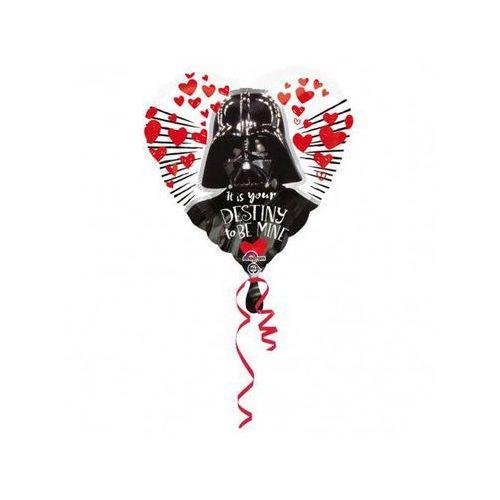 Amscan Balon foliowy serce star wars love - 43 cm - 1 szt.