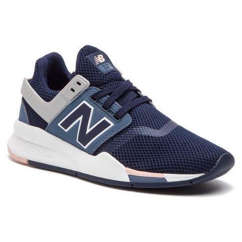 Sneakersy - ws247trf granatowy, New balance, 36-41.5