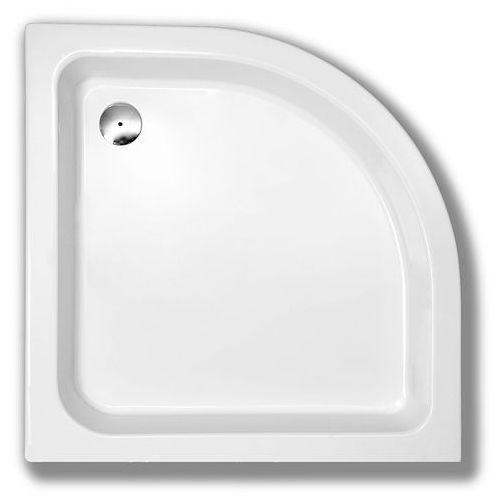 Schedpol grawello brodzik półokrągły 80cm r55, akrylowy 3.015 (5903263392378)