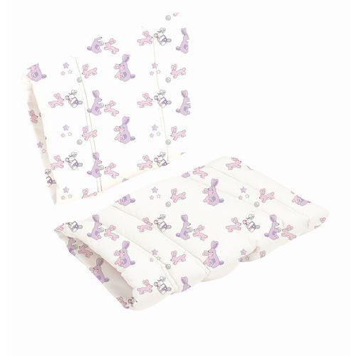 Baby dan Poduszka do krzesła danchair - bunny hop - różowy