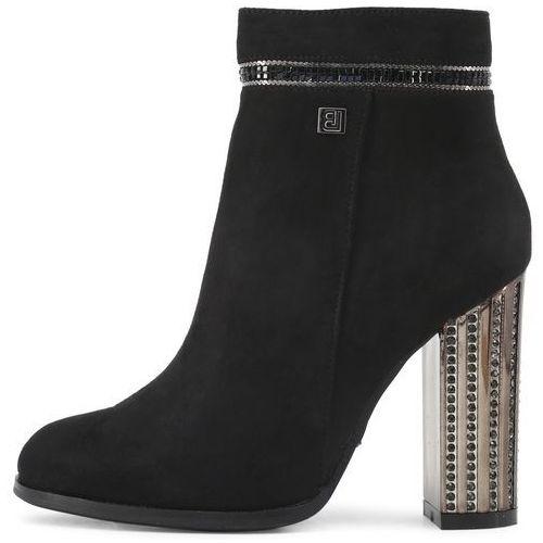 Laura Biagiotti buty za kostkę damskie 39 czarny (8053340369988)