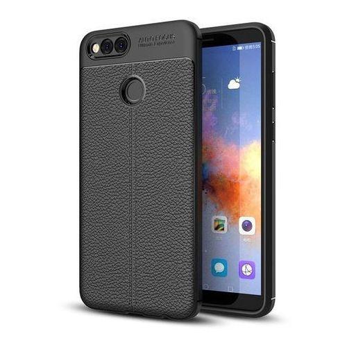 TECH-PROTECT TPULeather Black | Obudowa dla Huawei Honor 7X