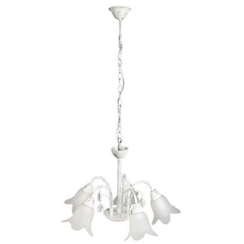 Lampa wisząca Rabalux Bernadette 5x40W E14 antyczne srebro 7108, 7108