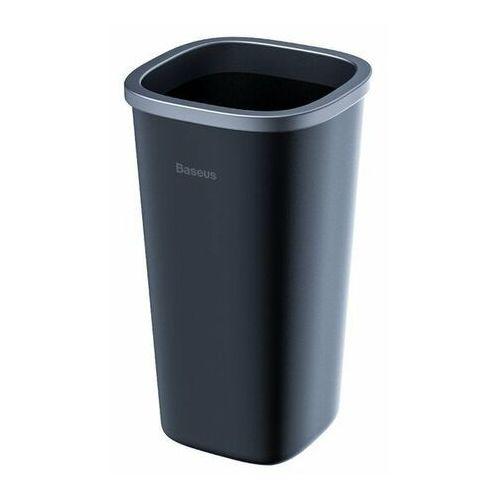 Baseus Dust-free | Kosz na śmieci samochodowy śmietnik + 90 worków, kolor czarny