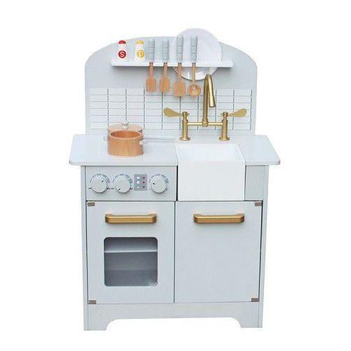Drewniana kuchnia dla dzieci deluxe z wyposażeniem marki Wooden toys