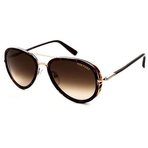 Okulary słoneczne ft0341 miles 28k marki Tom ford